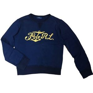 Polo Ralph Lauren Stitched Chest Sweater Sz S